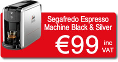 Segafredo Coffee Machine Offer